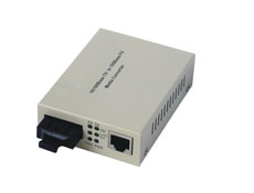 10/100Base Dual Fiber Optic Media Converter