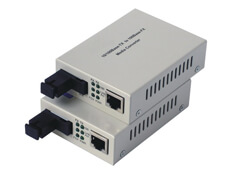 1000 Base Single mode Single Fiber Media Converter