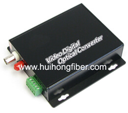 1 channel fiber optic video multiplexer