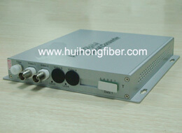 2 channel fiber optic video transceiver