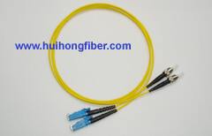 ST to E2000 Fiber Optic Patch Cable