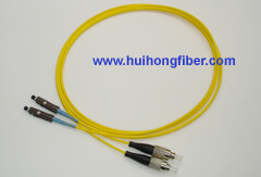 FC to MU Fiber Optic Patch Cable