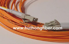 LC Duplex Multimode Fiber Optic Cable
