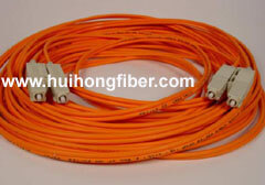 SC Duplex Multimode Fiber Optic Cable