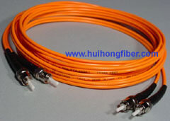 ST Duplex Multimode Fiber Optic Cable
