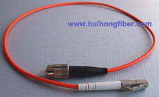 Multimode Simplex LC FC Fiber Optic Patch Cable
