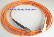 Multimode Simplex SC FC Fiber Optic Patch Cable
