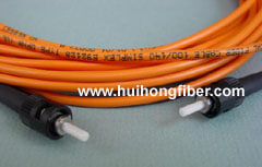 ST Multimode Simplex Fiber Optic Cable