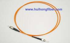 Multimode Simplex ST FC Fiber Optic Patch Cable