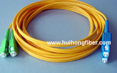 SC Single Mode Duplex Fiber Optic Cable