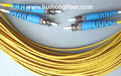 ST Single mode Duplex Fiber Optic Cable