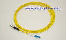 Single mode Simplex LC FC Fiber Optic Patch Cable