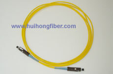 MU Single mode Simplex Fiber Optic Cable