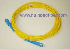 SC Single mode Simplex Fiber Optic Cable