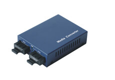 1000Base Single mode to Multimode Fiber Optic Converter